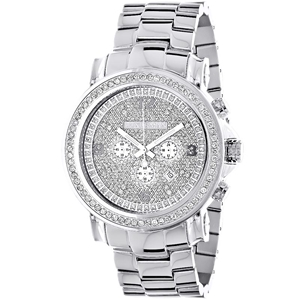 1c2098512 Authentic Luxurman Diamond Watches for Men and Women Up to 80% Off