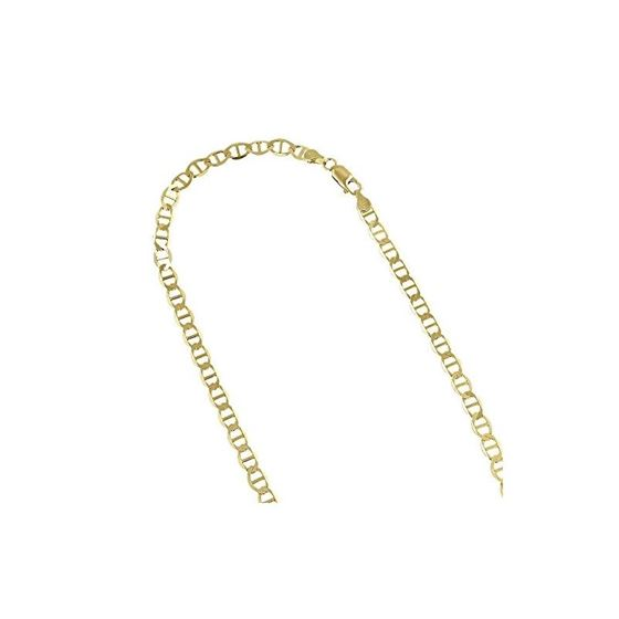 Solid 10k Gold Mariner Chain For Men and Women LUX