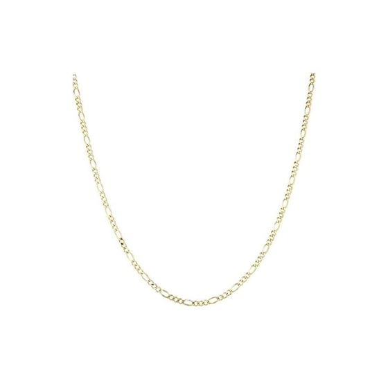 Solid 10k Gold Figaro Chain For Men and Women LUXU