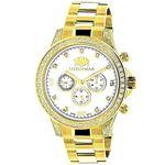Large Diamond Bezel Watch By 2.3Ctw Of Diamonds By