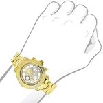 Ladies Luxurman Diamond Watch 0.30 ct Ye 89966 3