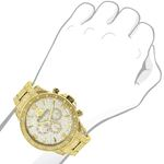 LUXURMAN Iced Out Mens Diamond Liberty Watch 1.2-3