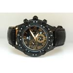 Aqua Master Mens Diamond Black PVD case  54585 1