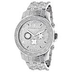 Raptor Iced Out Mens Diamond Bezel Band And Watch