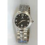 Aqua Master Swiss Classica Round 1.00 ct Diamond Mens Watch W306-WB 1