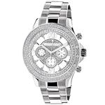Luxurman Liberty Watches: Mens Real Diam 90660 1