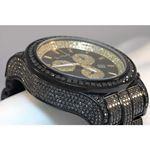 Joe Rodeo Watches Mens Black Diamond Watch Pilot 27.70 3