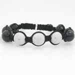 Tibetan Bead Mens 0.35ctw Diamond Bracel 81046 1
