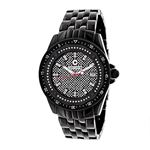 Black Mens Centorum Real Diamond Watch 0 89592 1