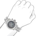 Ladies Montana Real Diamond Watch by Lux 89985 3