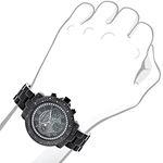 Mens Ladies Diamond Watches: Luxurman Bl 90938 3
