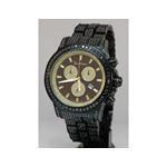Joe Rodeo Watches Mens Black Diamond Watch Pilot 27.70 1