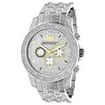 Luxurman Mens Three Chronograph Watches  90445 1
