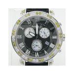 Yellow And White Benny Co Diamond Watch BNC2 1