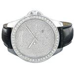 Iced Out Watches: Mens Diamond Watch 2Ct