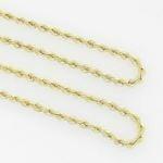 10K Yellow Gold rope chain GC13 3