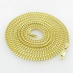 Mens .925 Italian Sterling Silver Cuban Link Chain Length - 36 inches Width - 3mm 1