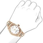 Rose Gold Plated Diamond Watch For Women Tribeca-3