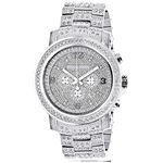 Mens Luxurman Iced Out Large Real Diamon 89782 1