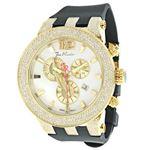 Watches: Broadway Mens Diamond Watch 5.00Ct