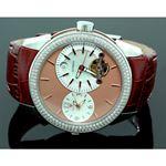 Mens Aqua Master Diamond Automatic Yellow Watch 1.75 ct w-317c 1