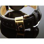 Aqua Master Lady Round Style 0.50ct Diamonds Yellow Gold 3