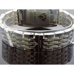 4.00Ct Diamond Black Face Stainless Steel Band W-3