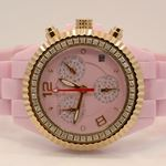 Aqua Master Ladies Ceramic Diamond Watch 1.25ctw W1153 1
