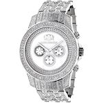 Luxurman Genuine Diamond Watch 1.25ct Wh 90450 1