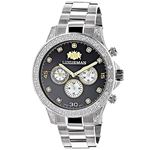 Mens Real Diamond Watch 0.5ct Two Tone L 90946 1