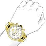 Large Diamond Bezel Watch By 2.3Ctw Of Diamonds-3
