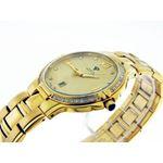 Mens Swiss 40Mm 1.00Ct 40 PCS Diamonds Watch Yel-3