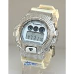 Aqua Master Shock Diamond Mens White Watch gd1 1