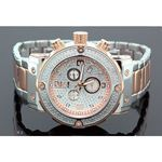 Aqua Master Mens Diamond Two Tone Watch 0.20ct w-146a 1