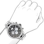 Genuine Diamond Watches For Men: 2Ct LUXURMAN Li-3