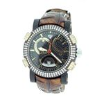 Titanium Automatic 3.50 Ct Diamond Mens Watch W312