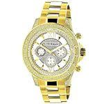 Luxurman Watches: Mens Liberty Genuine D 90670 1