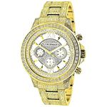 Fully Iced Out Mens Diamond Watch 3Ctw Of Diamonds
