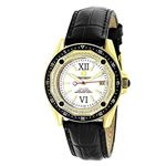 18K Gold Plated Watch With Diamonds 0.5Ct Midsize