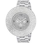 Mens Large Escalade Watch Real Diamond B 90012 1