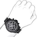 Black Diamond Watches: LUXURMAN Mens Diamond Wat-3