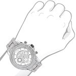Diamond Bezel And Band Watch For Men 1Ctw Of Dia-3