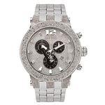 Diamond Men's Watch - BROADWAY Silver 5 Ctw
