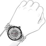 Designer Watches: Centorum Mens Real Diamond Watch 0.50ct Midsize Falcon 3