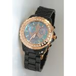 Techno Master Ceramic Round 0.90 ct Diamond Unisex Watch TM-2136BY 1