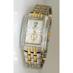 Aqua Master Swiss Classica Square 1.50 ct Diamond Mens Watch W308-WY 1