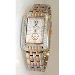 Aqua Master Swiss Classica Square 1.50 ct Diamond Mens Watch W308-WR 1