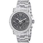 Oversized Diamond Watches: Luxurman Mens 90976 1