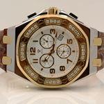 Aqua Master Royal Oak Mens Diamond Watch 1.50ctw W3251 1