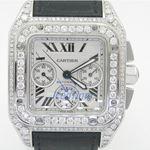 Cartier Santos 100 Mens Watch W20073X8 54334 1